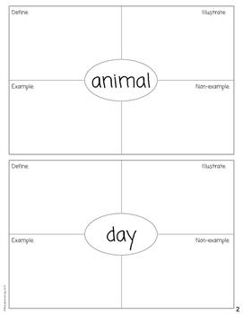 Kindergarten Science Dictionary