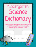 Kindergarten Science Dictionary