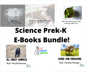 Prek-K  Science E-Books Bundle