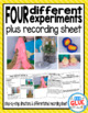Kindergarten Science Experiments for May