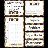 Science Fair Project - M&M's