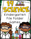 Kindergarten Science File Folder Games