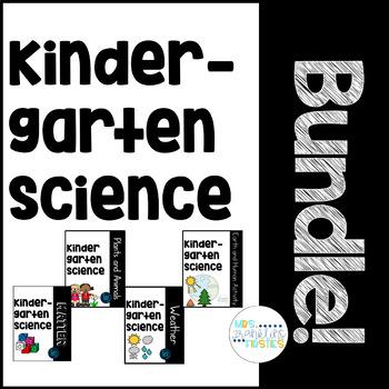 Kindergarten Science: BUNDLE!!!