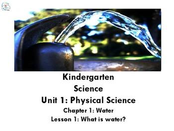 Science Digital Interactive Notebook Bundle Kindergarten