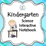 Science Digital Interactive Notebook Bundle Kindergarten
