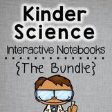 Back to School Kindergarten Science Interactive Notebooks Bundle