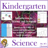 Kindergarten Science Introduction Mini Unit