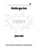 Kindergarten Science Journal