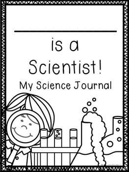 Kindergarten Science Journal Printables - Science Printables - STEM Journal