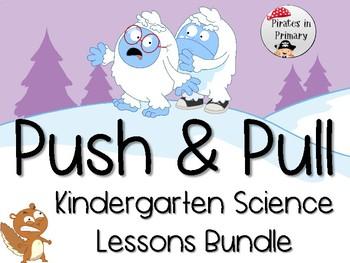 Kindergarten Science Lesson Bundle **NGSS Aligned**