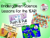 Kindergarten Science Lessons For the YEAR! **NGSS Aligned**