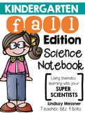 Kindergarten Science Notebook {Fall Edition}