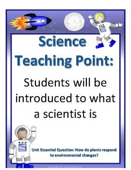 NYS Kindergarten Science Teaching Points