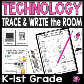 TECHNOLOGY Write the Room Science Set