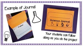 Kindergarten Scientific Method/ Project Journal
