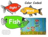 Kindergarten Scott Foresman Reading Street Color Coded Sight Word Fish