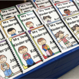 Kindergarten Scrapbook / Memory Book: A Fun Year of Learning!
