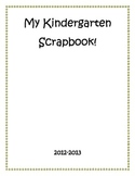 Kindergarten Scrapbook End of the Year Gift