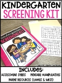Kindergarten Screening Assessment - Handouts, Resources, Assessment Tools