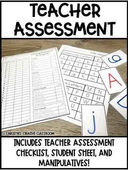 Kindergarten Screening Assessment - Handouts, Resources, Assessment Tools