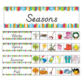 Kindergarten Seasonal Pocket Chart Games