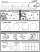 Kindergarten Seat Work - Homework - SEPTEMBER - Common Cor