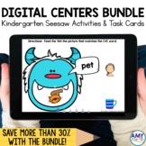 Kindergarten Seesaw Activities and Task Cards Bundle