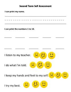 Kindergarten Self-Assessment