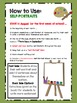 Kindergarten Self Portrait Book - Monthly Writing Portfolio