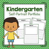 Kindergarten Self-Portrait Portfolio