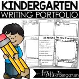 Kindergarten Name Writing Portfolio and Self Portraits