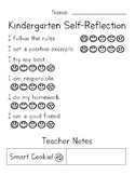 Kindergarten Self-Reflection