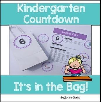 Kindergarten Send-Off End-of-Year Bundle