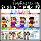Kindergarten Sentence Building (THE BUNDLE)