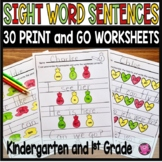 Sentence Writing and Structure - Distance Learning Worksheets