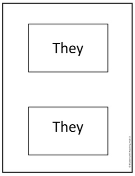 Sight Words for Sentence Building (Kindergarten)
