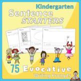 Kindergarten Sentence Starters