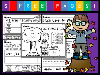 Kindergarten September Language Arts Freebie!  (Common Core Aligned!)