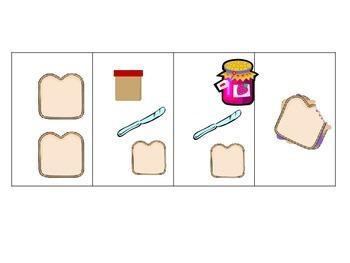 Kindergarten Sequencing Cards