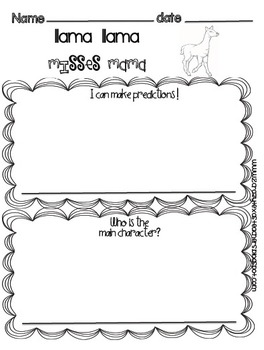 Kindergarten Setting Packet