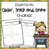 Kindergarten Shape Review Activity