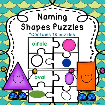 Kindergarten Shape Sorting 2D and 3D Shapes Activity Game Puzzles K.G.2