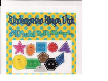 Kindergarten Shape Unit - Common Core Standards
