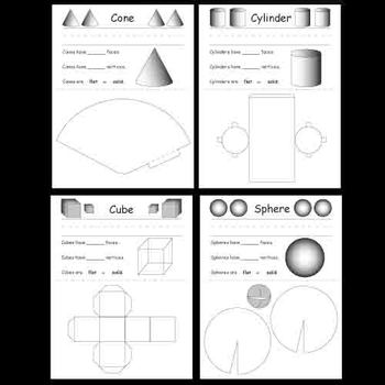 Kindergarten Shape Worksheets
