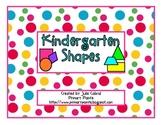 Kindergarten Shapes