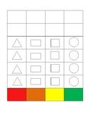 Kindergarten Shapes Activity