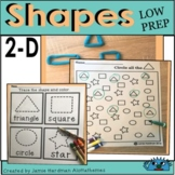 Shapes Printable worksheets Kindergarten