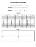 Kindergarten Sight Word Assessment Record