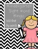 Kindergarten Sight Word Bingo-First 100 Fry Words
