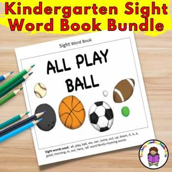 Kindergarten Sight Word Book Bundle